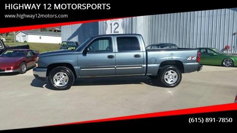 2006 Chevrolet Silverado 1500 for sale at HIGHWAY 12 MOTORSPORTS in Nashville TN
