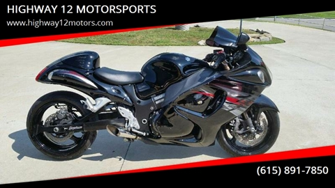 2012 Suzuki Hayabusa for sale in Nashville, TN