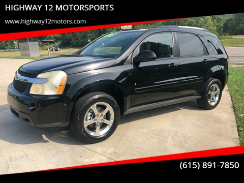 2007 Chevrolet Equinox for sale at HIGHWAY 12 MOTORSPORTS in Nashville TN
