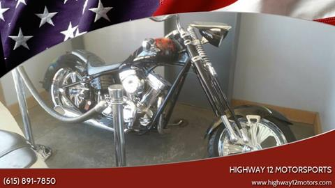 2007 CHOPPER CHOPPER for sale at HIGHWAY 12 MOTORSPORTS in Nashville TN