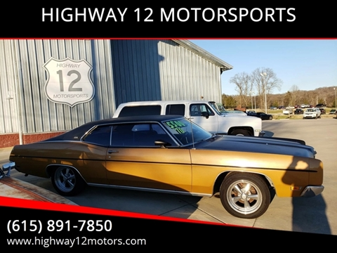 1970 Ford Galaxie for sale in Nashville, TN