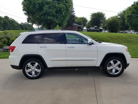 2012 Jeep Grand Cherokee for sale at HIGHWAY 12 MOTORSPORTS in Nashville TN