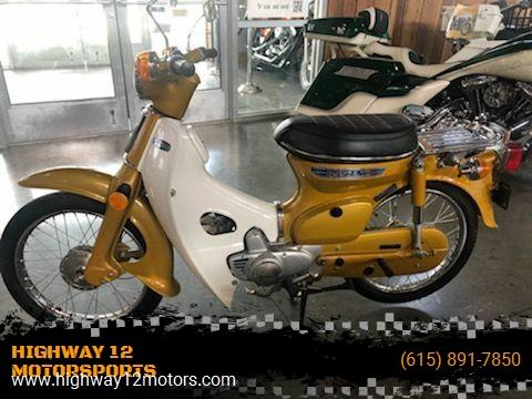1972 Honda C70 for sale at HIGHWAY 12 MOTORSPORTS in Nashville TN
