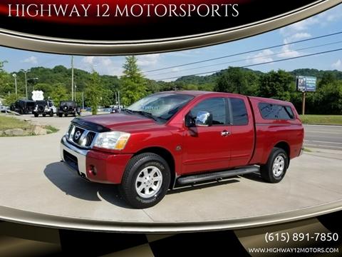 2004 Nissan Titan for sale at HIGHWAY 12 MOTORSPORTS in Nashville TN