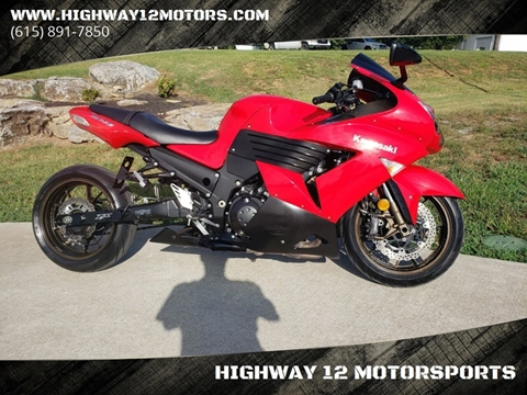 2006 Kawasaki Ninja ZX-14R for sale at HIGHWAY 12 MOTORSPORTS in Nashville TN