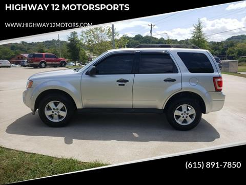 2011 Ford Escape for sale at HIGHWAY 12 MOTORSPORTS in Nashville TN