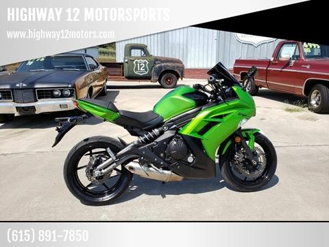 2012 Kawasaki Ninja 650R for sale in Nashville, TN