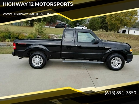 2008 Ford Ranger for sale at HIGHWAY 12 MOTORSPORTS in Nashville TN
