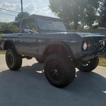 1972 Ford Bronco for sale at HIGHWAY 12 MOTORSPORTS in Nashville TN