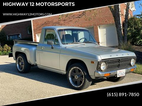 1976 Ford Courier for sale at HIGHWAY 12 MOTORSPORTS in Nashville TN
