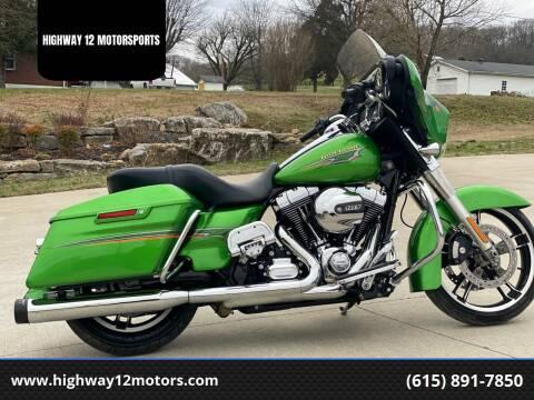 2015 Harley-Davidson FLHX for sale at HIGHWAY 12 MOTORSPORTS in Nashville TN