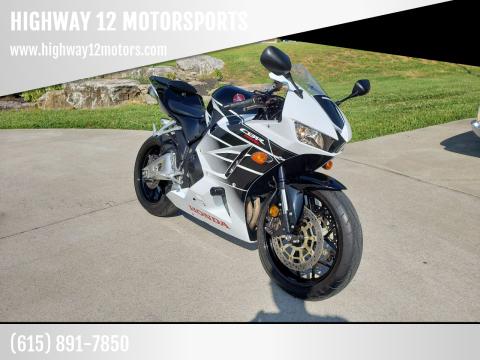 2016 Honda CBR600RR for sale at HIGHWAY 12 MOTORSPORTS in Nashville TN