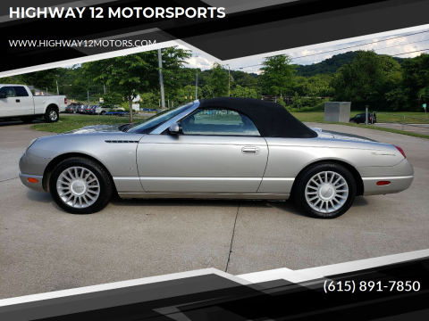 2004 Ford Thunderbird for sale at HIGHWAY 12 MOTORSPORTS in Nashville TN