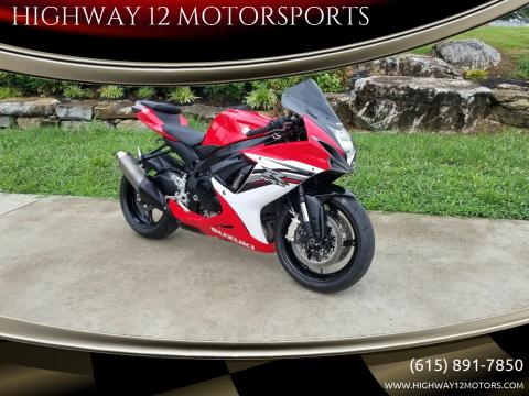 2013 Suzuki GSX-R600 for sale at HIGHWAY 12 MOTORSPORTS in Nashville TN