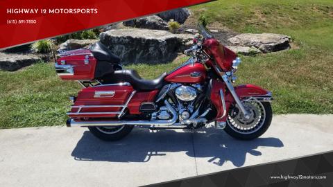 2013 Harley-Davidson FLHTCU for sale at HIGHWAY 12 MOTORSPORTS in Nashville TN