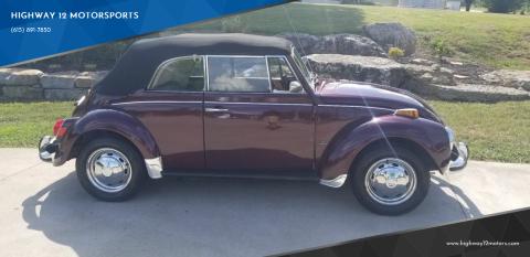 1972 Volkswagen Beetle for sale at HIGHWAY 12 MOTORSPORTS in Nashville TN