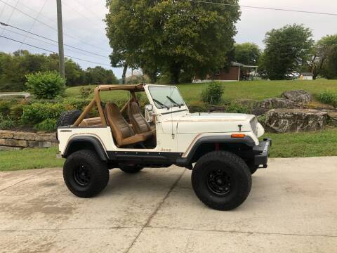 1987 Jeep Wrangler for sale at HIGHWAY 12 MOTORSPORTS in Nashville TN