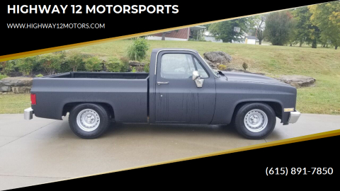 1982 Chevrolet C/K 10 Series for sale at HIGHWAY 12 MOTORSPORTS in Nashville TN