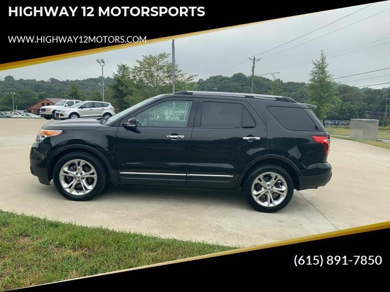 2015 Ford Explorer for sale at HIGHWAY 12 MOTORSPORTS in Nashville TN