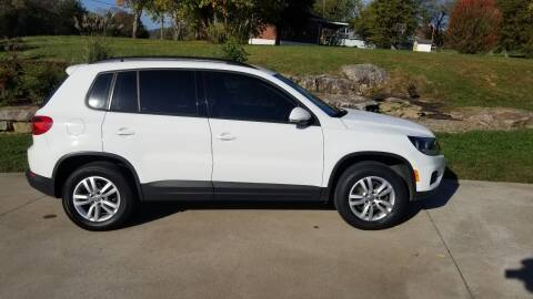 2015 Volkswagen Tiguan for sale at HIGHWAY 12 MOTORSPORTS in Nashville TN