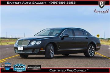 2012 Bentley Continental Flying Spur for sale in Mcallen TX