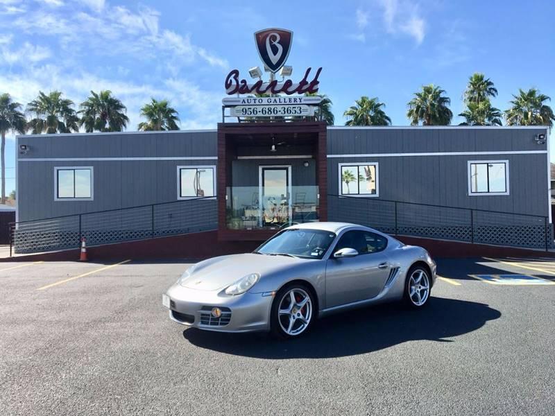 2006 Porsche Cayman for sale at Barrett Auto Gallery in Mcallen TX