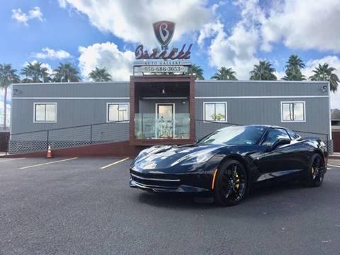 2015 Chevrolet Corvette for sale at Barrett Auto Gallery in Mcallen TX