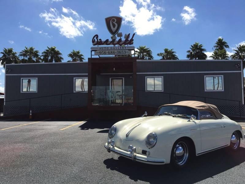 1953 Porsche 356 Speedster for sale at Barrett Auto Gallery in Mcallen TX