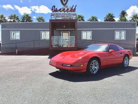 1995 Chevrolet Corvette for sale at Barrett Auto Gallery in Mcallen TX