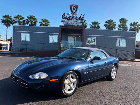 1997 Jaguar XK-Series for sale at Barrett Auto Gallery in San Juan TX