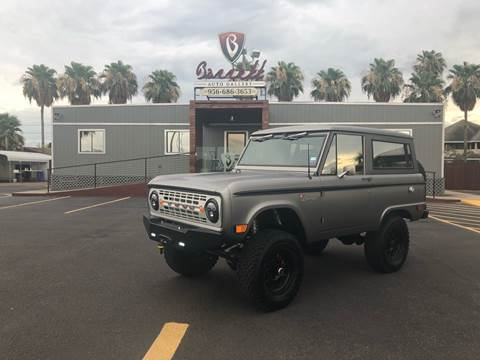 1968 Ford ICON Bronco #16 for sale at Barrett Auto Gallery in San Juan TX