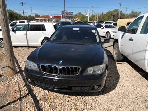 2007 BMW 7 Series for sale at 733 Cars in Oklahoma City OK