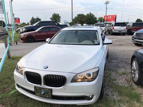 2012 BMW 7 Series for sale at 733 Cars in Oklahoma City OK