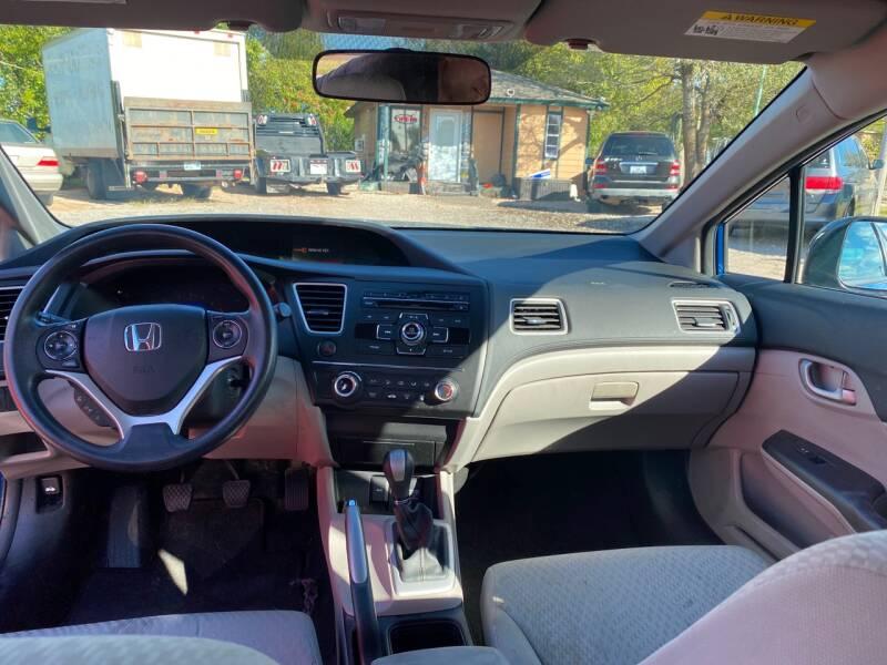 2015 Honda Civic LX 4dr Sedan 5M - Oklahoma City OK