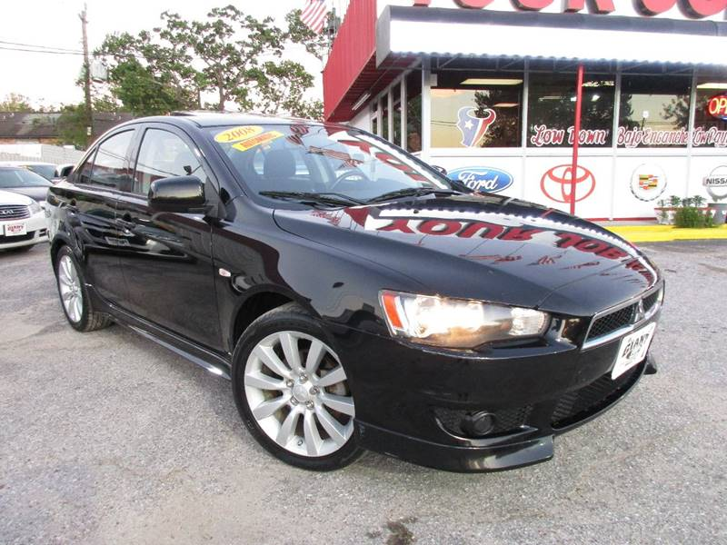 2008 Mitsubishi Lancer for sale at Giant Auto Mart 2 in Houston TX