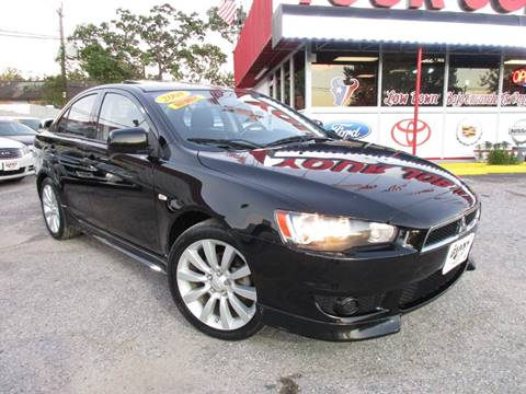 2008 Mitsubishi Lancer for sale in Houston, TX