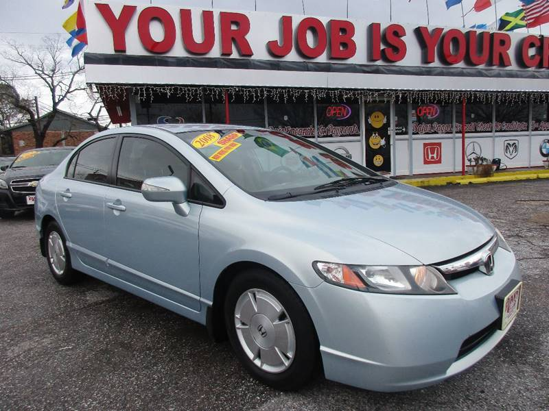 2008 Honda Civic for sale at Giant Auto Mart 2 in Houston TX
