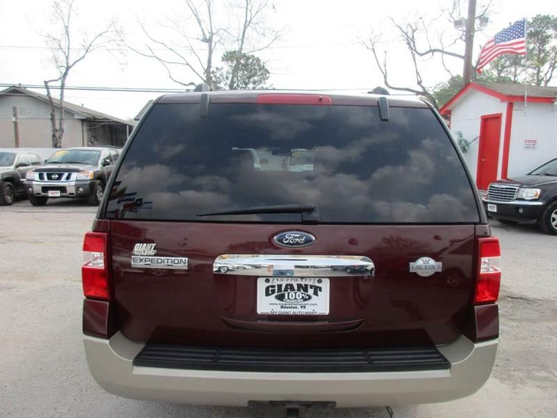 2010 Ford Expedition EL for sale at Giant Auto Mart 2 in Houston TX