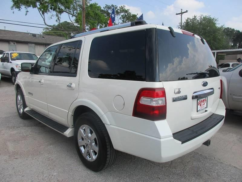 2008 Ford Expedition for sale at Giant Auto Mart 2 in Houston TX