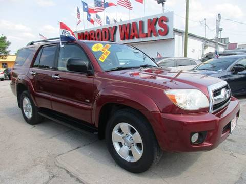 2007 Toyota 4Runner for sale at Giant Auto Mart 2 in Houston TX