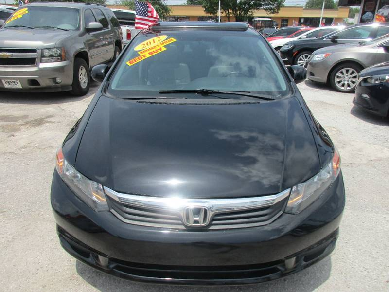 2012 Honda Civic for sale at Giant Auto Mart 2 in Houston TX