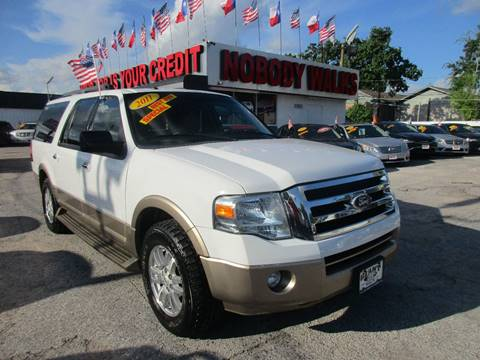2011 Ford Expedition EL for sale at Giant Auto Mart 2 in Houston TX
