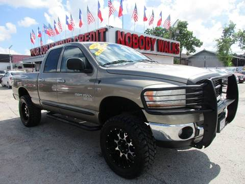 2006 Dodge Ram Pickup 1500 for sale at Giant Auto Mart 2 in Houston TX