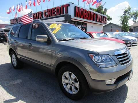 2009 Kia Borrego for sale at Giant Auto Mart 2 in Houston TX