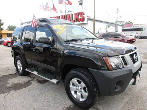 2011 Nissan Xterra for sale at Giant Auto Mart 2 in Houston TX