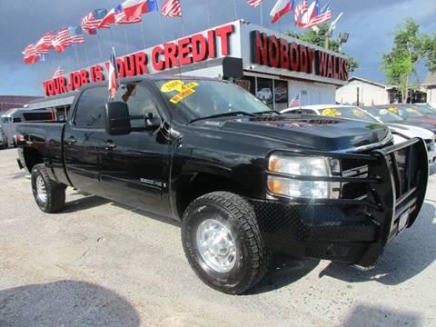 2008 Chevrolet Silverado 2500HD for sale at Giant Auto Mart 2 in Houston TX