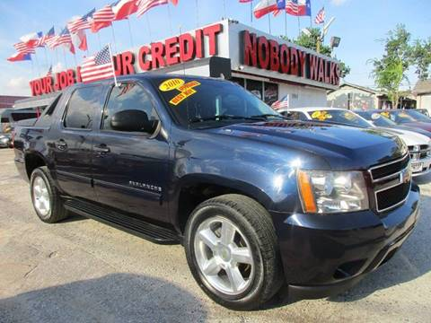 2010 Chevrolet Avalanche for sale at Giant Auto Mart 2 in Houston TX