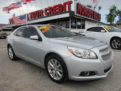 2013 Chevrolet Malibu for sale at Giant Auto Mart 2 in Houston TX