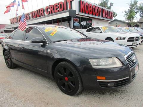 2006 Audi A6 for sale at Giant Auto Mart 2 in Houston TX