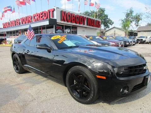 2012 Chevrolet Camaro for sale at Giant Auto Mart 2 in Houston TX